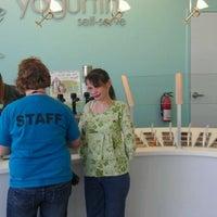 Photo taken at Yogurtini by Bob T. on 4/9/2012