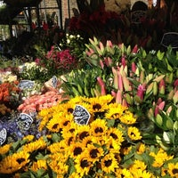 Photo taken at Columbia Road Flower Market by Ankit G. on 5/13/2012
