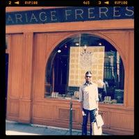 Foto tirada no(a) Mariage Frères por Shaun R. em 7/25/2012