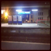 Photo taken at Gare SNCF de Suresnes — Mont Valérien by Romain on 9/13/2012