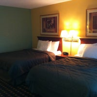 Photo taken at University Manor Inn by Alex M. on 8/10/2012