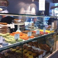 Photo taken at Estelle's Patisserie by Mark B. on 9/7/2012