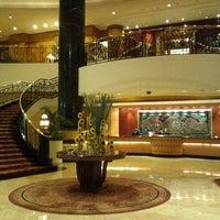 Photo taken at Sheraton Surabaya Hotel & Towers by Andreas K. on 7/12/2012