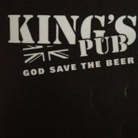 Photo taken at King's Pub by Lalo P. on 3/13/2012