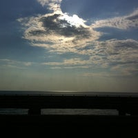 Photo taken at Lake Pontchartrain Causeway by Emily B. on 5/19/2012