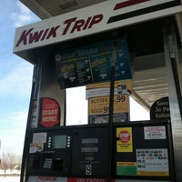 Photo taken at Kwik Trip #343 by Justin on 3/4/2012