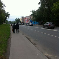 Photo taken at Лукойл АЗС №538 by Denis K. on 6/7/2012