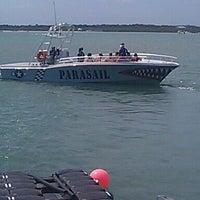 Photo taken at Daytona Beach Parasail by Teresa S. on 3/24/2012