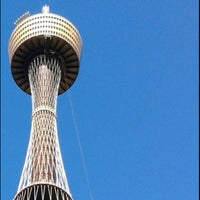 Photo taken at Sydney Tower Eye by Shaoib R. on 7/18/2012