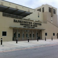 Photo taken at BankUnited Center by Juan F. G. on 5/31/2012