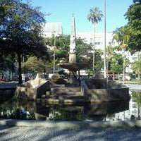 Photo taken at Praça General Osório by Wanderson Kedley S. on 8/13/2012