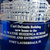Photo taken at NSU: Carl DeSantis Building by Kyle on 8/18/2012