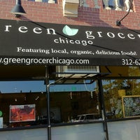 Photo taken at Green Grocer Chicago by Purple P. on 8/18/2012