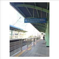 Photo taken at Guro Stn. by chito k. on 4/6/2012