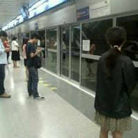 Photo taken at MRT Bang Sue (BAN) by Aiwarin C. on 7/27/2012