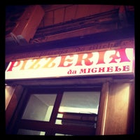 Photo taken at L'Antica Pizzeria da Michele by Edouard B. on 6/2/2012