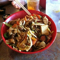 Photo taken at Genghis Grill by Kelsie L. on 8/11/2012