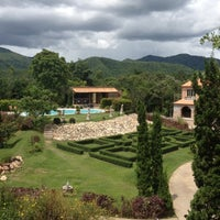 Photo taken at La Toscana Resort by PowJung P. on 8/23/2012