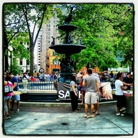 Photo taken at Court Square by Brandon H. on 7/25/2012