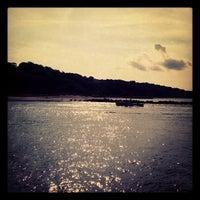 Photo taken at Cedar Beach by Steve H. on 9/2/2012