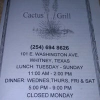Photo taken at Cactus  Grill by Liz B. on 8/16/2012