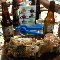 Photo taken at Las Nuevas Galias by Daniel T. on 4/13/2012