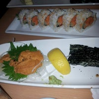 Photo taken at Kamon Sushi Japanese Cuisine by Hong L. on 9/2/2012
