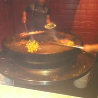 Photo taken at Mongolian Grill San Jacinto by Cisco on 3/13/2012