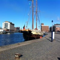 Photo taken at Hafen Wismar by Matt A. on 2/26/2012