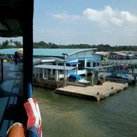 Photo taken at Terminal Feri Menumbuk, Sabah by David N. on 8/17/2012