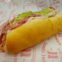 Photo taken at Jimmy John's by Michael K. on 5/18/2012