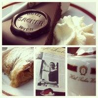 Photo taken at Café Sacher by Rita B. on 8/16/2012