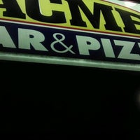 Photo taken at Acme Bar & Pizza by Drew D. on 7/16/2012