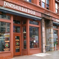 Photo taken at Dinosaur Bar-B-Que by Rob 🌱🌻🌼🌞 C. on 5/2/2012