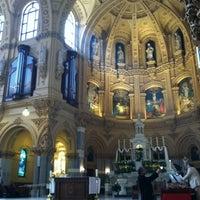 Photo taken at St. Francis Xavier Catholic Church by Dan S. on 4/8/2012