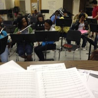 Photo taken at HCMS Band Room by Pamela G. on 4/27/2012
