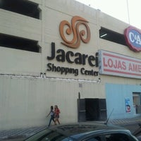Photo taken at Jacareí Shopping Center by Lucas S. on 5/9/2012