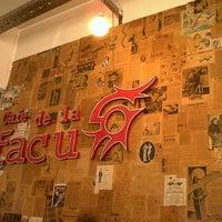 Photo taken at Café de la Facu by Natalia G. on 8/25/2012