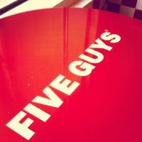 Photo taken at Five Guys by Ilya Z. on 5/1/2012