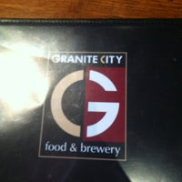 Photo taken at Granite City Food & Brewery by Eric S. on 3/29/2012