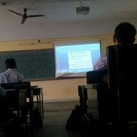 Photo taken at Karunya University - School of Computer Science by Samuel P. on 9/4/2012