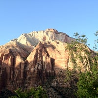 Photo taken at Zion National Park by Tony R. on 5/6/2012