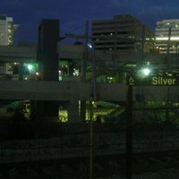 Photo taken at Silver Spring Metro Station by Christopher D. on 2/5/2012