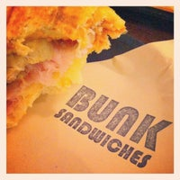 Photo taken at Bunk Sandwiches by Jason R. on 9/4/2012