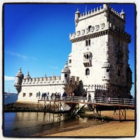Photo taken at Belém Tower by Marco M. on 4/8/2012