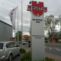 Photo taken at Adolf Würth Gmbh & Co.KG by Lutz H. on 4/27/2012