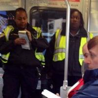 Photo taken at MUNI Metro Stop - 9th & Irving by B s. on 2/10/2012