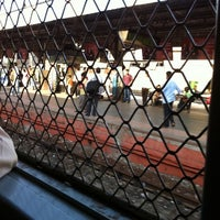 Photo taken at Lower Parel Railway Station by Solomon N. on 5/10/2012