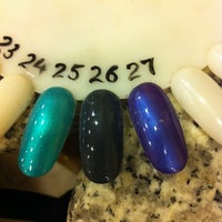 Photo taken at Lauren's Nails by Kyra H. on 2/21/2012