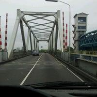 Photo taken at Algerabrug by Jeroen V. on 5/31/2012